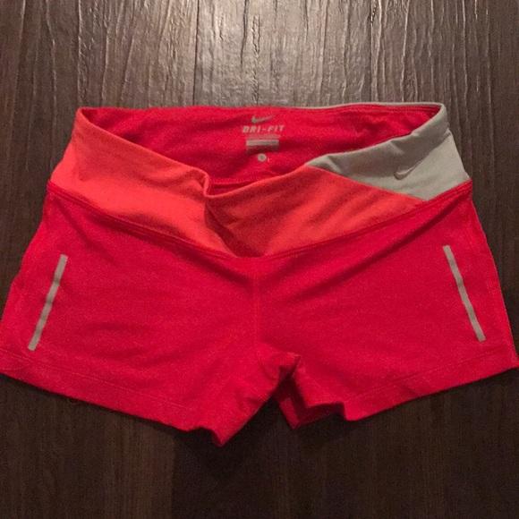 nike 2 inch fast shorts